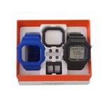 Relógio Champion Yot Cp40180x Preto Azul