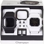 Relógio Champion Yot Cp40180x Preto Branco