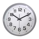 Relógio de Parede Branco 30cm Simple Numbers Urban