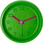 Relógio de Parede Color Clock Verde e Pink Uatt? Analógico