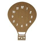Relógio de Parede em MDF 34x24,7cm Balão - Palácio da Arte