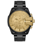 Relógio Diesel Masculino Black And Gold Preto DZ4485-1PN