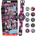 Relógio Digital Multi Projetor Monster High