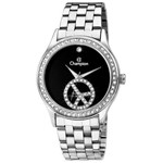 Relógio Feminino Analógico Social Champion Peace, Pulseira de Aço. um Ano de Garantia - CH25785T