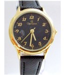 Relógio Feminino Champion Couro Social Ch25114n