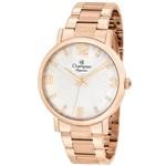 Relógio Feminino Champion Rosê Cn25636z