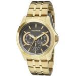 Relógio Masculino Technos Classic 6P29AIC/4C 47mm Aço Dourado