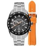 Relógio Masculino Technos Os20hm1b à Prova D`água 100 M Troca Pulseira