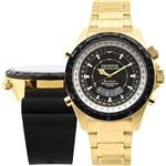Relógio Masculino Technos SkyDiver Troca Pulseira Anadigi T205FE/4P