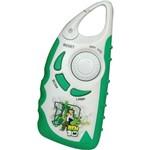 Relógio + Rádio B-Fun Verde / Cinza - Candide