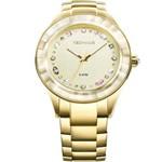Relógio Technos Feminino Elegance Crystal 2036LMS/4X