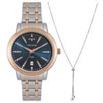 Relógio Technos Feminino Trend Bicolor 2115mrt/k5a
