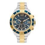 Relógio Technos Prateado Dourado Masculino Legacy Js25bk/5a