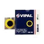 Remendo a Frio Rbm-01 025 Mm Caixa com 100 Pecas - Rbm-01 - Vipal
