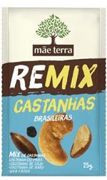 Remix Castanha 25g - Mãe Terra