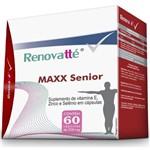 Renovatté Maxx Senior Suplemento de Vitamina E, Zinco e Selênio 250mg 60 Cápsulas Melcoprol
