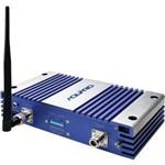 Repetidor de Celular 2100mhz Rp2170 Prata/Azul Aquario