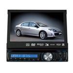 """Reprodutor DVD Automotivo Roadstar Rs-7740dtv 7.0"""" com Tv Analógica/USB - Preto"""
