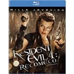 Resident Evil 4 Recomeço - Blu Ray Filme Ação
