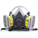 Respirador 3m 6200 com Filtros para Odores e Gases Ácidos