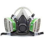 Respirador 3m Série 6000 com Filtros 6004 para Amônia e Metilamina