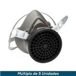 Respirador Reutilizável 1/4 3M Série 3000C Kit Completo