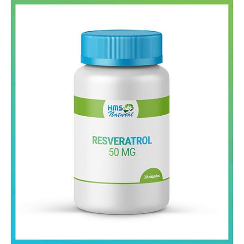 Resveratrol 50mg Cápsulas 30cápsulas