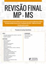 Revisão Final - MP-MS - Dicas Ponto a Ponto do Edital (2018)