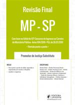 Revisão Final - MP SP - Promotor de Justiça Substituto (2019)