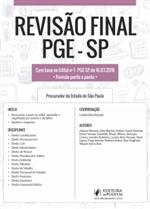 Revisão Final - PGE- SP - Dicas Ponto a Ponto do Edital (2018)
