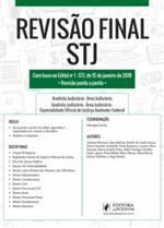 Revisão Final - STJ - Dicas Ponto a Ponto do Edital (2018)