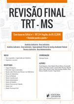 Revisão Final - TRT 24ª Região - MS - Dicas Ponto a Ponto do Edital (2017)