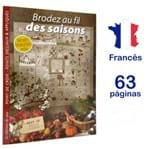 Revista Brodez Au Fil Des Saisons (Bordado com as Estações)