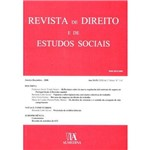 Revista de Direito e de Estudos Sociais, Janeiro -Dezembro - 2008, Ano Xlix (Xxii da 2.ª Série), Nºs