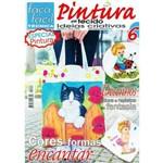 Revista Faça Fácil Pintura em Tecido com Ideias Criativas Nº06