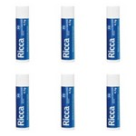 Ricca 2200 Hidratante Labial Fps30 Neutro 4,5g (kit C/06)