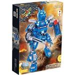 Robô Fighter Azul 213 Peças Banbao