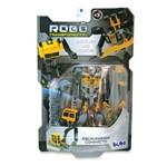 Robô Transformável - Escavadeira Compacta - Buba