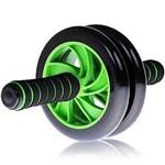 Roda Abdominal Estabilizadora Profissional Double Wheel