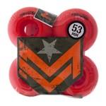 Roda Mini Logo Color Red 53MM