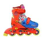 Roller Infantil Princesa com Kit Esportivo Tamanho 29 a 32 Dtc