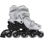 Roller Infantil - Tamanho M - Cinza - Mor Row
