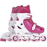 Roller Infantil - Tamanho P - Rosa - Mor Row