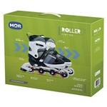 Roller Semi-Pro Cinza Tamanho G 39-42