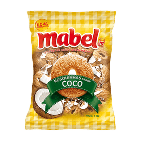 Rosquinha Mabel Coco 400g