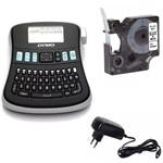 Rotulador Eletrônico Dymo Lm-210d 1 Fita 1 Fonte