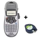 Rotulador Eletrônico Letratag Lt100h Dymo com 1 Fita Papel