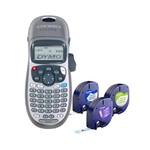 Rotulador Eletrônico Letratag Plus Lt100h Combo 3 Fitas + Suporte Magnético