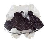Roupa Adora Doll Preto e Branco - Shiny Toys