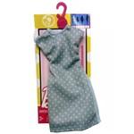 Roupa Barbie FAB Look Fashion Vestido Bolinhas FCT22 - Mattel